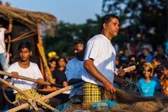 马尔加奥,果阿/印度2018年2月12日:狂欢节庆祝在果阿,印度 免版税库存图片