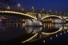 马尔吉特桥梁 库存图片