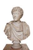 年轻马尔库斯・奥列里乌斯皇帝的画象161-180 A d 偏僻寺院,圣彼德堡,俄罗斯 库存照片