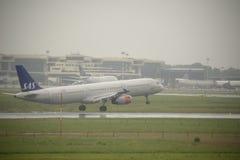 马尔彭萨国际机场 库存图片