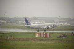 马尔彭萨国际机场 免版税图库摄影