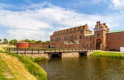 马尔摩城堡墙壁  免版税库存照片