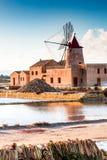 马尔萨拉,西西里岛,意大利 库存照片