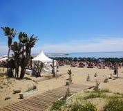 马尔韦利亚海滩 免版税库存照片