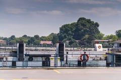 马尔马拉海运输-土耳其 库存照片