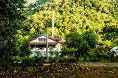 马尔马拉-土耳其的乡下自然风景 免版税库存图片