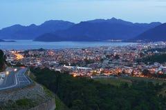 马尔马里斯港,土耳其都市风景  库存图片