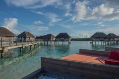 马尔代夫可儿海岛2015年4月 免版税库存图片