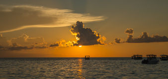 马尔代夫可儿海岛2015年4月 图库摄影