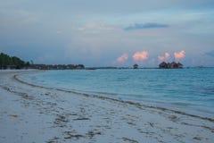 马尔代夫可儿海岛2015年4月 库存图片