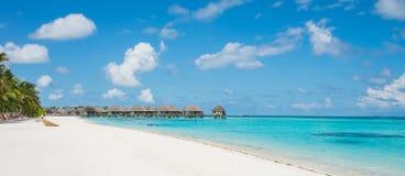 马尔代夫可儿海岛2015年4月 库存照片