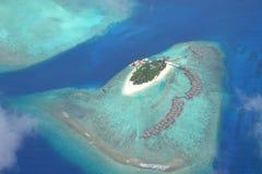 马尔代夫手段 免版税库存图片