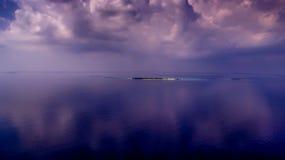 从马尔代夫的Kredhivaru 免版税库存图片
