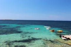 马尔他海岸 免版税库存图片