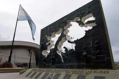 马尔维纳斯群岛的地区在乌斯怀亚 免版税库存图片