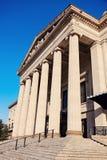 马尼托巴立法大厦在温尼培 免版税图库摄影