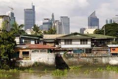 马尼拉地平线 免版税库存照片