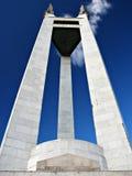 马尼拉地标曼纽尔奎松市总统纪念品 免版税库存图片