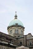 马尼拉大教堂,天主教大教堂l特写镜头圆顶  免版税库存图片