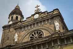马尼拉大教堂 图库摄影