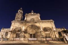 马尼拉大教堂 库存照片
