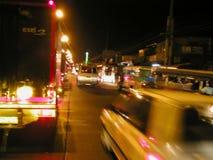 马尼拉晚上 免版税库存图片