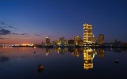 马尼拉港口正方形 库存图片