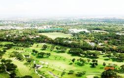 马尼拉高尔夫俱乐部 免版税图库摄影