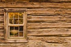 马布里磨房窗口 免版税库存照片