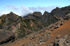 马德拉岛山 库存图片