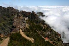 马德拉岛山 免版税库存照片