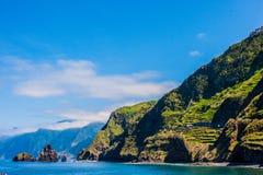 马德拉岛海岛风景  免版税库存图片