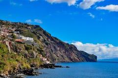 马德拉岛海岛,葡萄牙海岸  库存照片