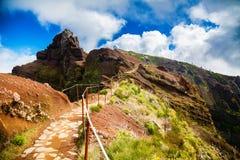 马德拉岛的第三座高山 图库摄影