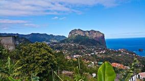 从马德拉岛的美妙的风景 免版税库存照片