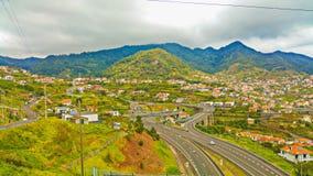 从马德拉岛的美妙的风景 库存图片
