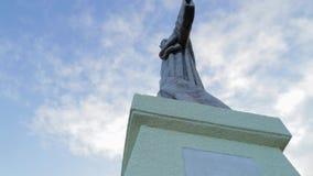 马德拉岛的葡萄牙基督 股票视频