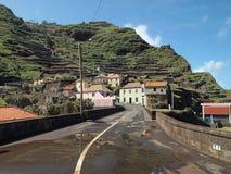 马德拉岛葡萄牙乡下 免版税库存照片
