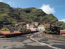 马德拉岛葡萄牙乡下 免版税图库摄影