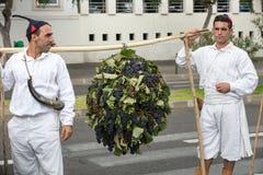 马德拉岛酒节在丰沙尔 免版税库存照片