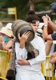 马德拉岛酒节在丰沙尔 库存图片