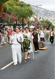 马德拉岛酒节在丰沙尔 免版税图库摄影