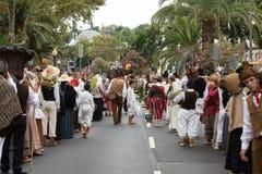 马德拉岛酒节在丰沙尔 图库摄影