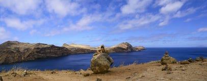 马德拉岛风景 免版税库存照片