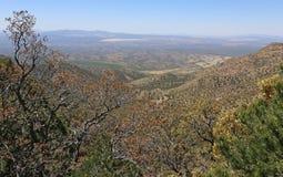 马德拉峡谷上面  库存图片