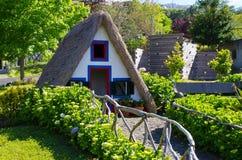 马德拉海岛典型的房子  库存图片