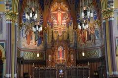 马德琳的大教堂在盐湖城 库存图片