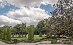 马德里公园retiro 免版税库存照片
