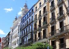 马德里典型的宫殿,西班牙,欧洲 库存图片