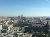 马德里地平线 库存图片
